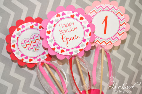 Valentine,Birthday,Centerpiece,sticks,-,Valentine's,Day,Party,February,Heart,Chevron,Decoration,Set,of,3,valentines day party centerpieces, valentine birthday centerpieces, heart party decorations, heart valentine centerpiece sticks, valentines day birthday party, birthday decorations, birthday centerpieces, birthday party, 1st birthday centerpiece decoratio