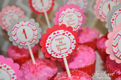 Valentine,Birthday,Cupcake,Toppers,-,Valentine's,Day,Party,February,Heart,Chevron,Decoration,Set,of,12,valentines day party cupcake toppers, valentine birthday cupcake toppers, heart party decorations, heart valentine cupcake picks, valentines day birthday party, birthday decorations, birthday cupcake toppers, birthday party, 1st birthday cupcake toppers
