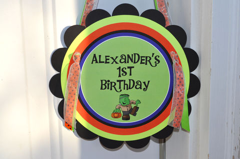 Halloween,Birthday,Door,Sign,-,Decorations,1st,Party,Halloween Birthday Party Sign, Door Sign, Halloween Party, Birthday, 1st Birthday, Halloween Party Decorations, Party Welcome Sign, So Sweet Party Shop, Birthday Party Decorations