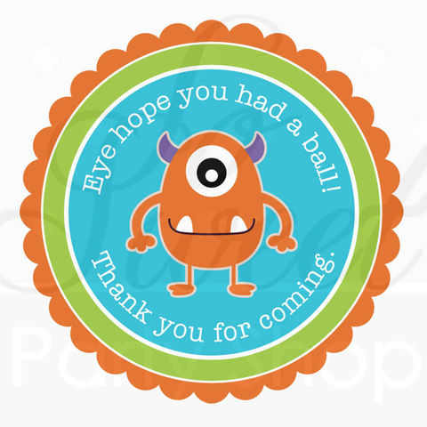 24,Birthday,Favor,Sticker,Labels,-,Monsters,Aliens,Personalized,Boys,Party,Decorations,favor sticker labels, party favors birthday stickers, party favor bag stickers, containers labels, envelope seals, party decor labels