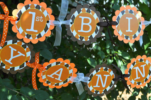 Argyle,Happy,Birthday,Banner,-,Halloween,,Autumn,Party,Decorations,Fall,Colors,Brown,,Orange,,Yellow,birthday banners, decoration, baby shower banner, 1st birthday banner, happy birthday banner, party sign, personalized party, girls birthday party, birthday banner, party decorations, girls birthday ideas, party banner