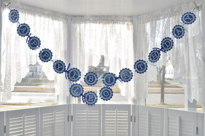 Blue And White Decorations birthday decorations blue and white ~ image inspiration of cake