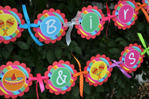 Happy,Birthday,Banner,-,1st,Fiesta,Party,Decorations,birthday banners, decoration, baby shower banner, 1st birthday banner, happy birthday banner, party sign, personalized party, girls birthday party, birthday banner, party decorations, girls birthday ideas, party banner, fiesta birthday banner, cinco de ma