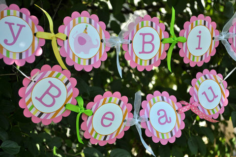 Happy,Birthday,Banner,-,Elephant,and,Giraffe,Stripes,Party,Decorations,Personalized,birthday banners, decoration, baby shower banner, 1st birthday banner, happy birthday banner, party sign, personalized party, girls birthday party, birthday banner, party decorations, girls birthday ideas, party banner