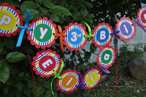 Happy,Birthday,Banner,Rainbow,Colors,-,Personalized,birthday banners, decoration, baby shower banner, 1st birthday banner, happy birthday banner, party sign, personalized party, girls birthday party, birthday banner, party decorations, girls birthday ideas, party banner