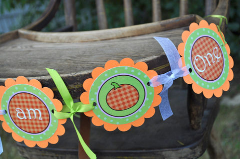 Pumpkin,1st,Birthday,Highchair,Banner,-,I,am,One,Halloween,Party,Decorations,,Little,birthday banners, decoration, baby shower banner, 1st birthday banner, happy birthday banner, party sign, personalized party, girls birthday party, birthday banner, party decorations, girls birthday ideas, party banner
