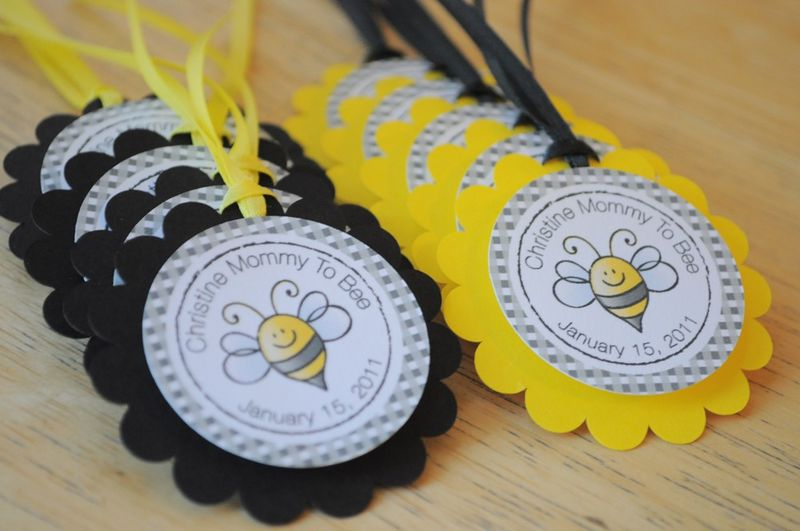 12 baby shower cupcake toppers bumble bee theme mommy to bee so
