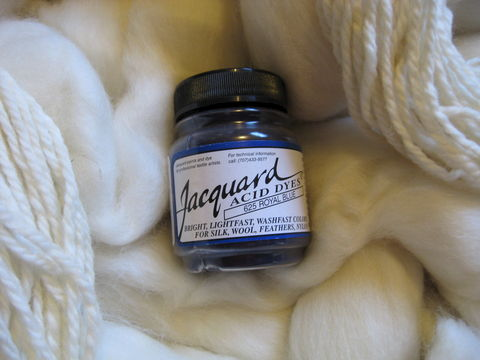 Jacquard,Acid,Dye,,Royal,Blue,625,,for,Wool,,Silk,,,Feathers,,Nylon,,and,Other,Protein,Fibers,dye, acid dye, royal blue, acid wool dyes, acid fiber dyes, jacquard, Jacquard  Royal Blue, vinegar dye, fiber dye, synthetic dye, Jacquard dye, Jacquard Royal Blue Dye, BrushCreekWoolWorks, Brush Creek Wool Works