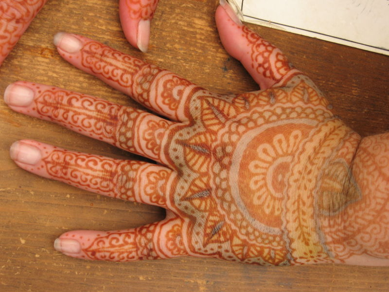 Red Mehndi Tattoo : Natural dyes and mordants collection brush creek wool works