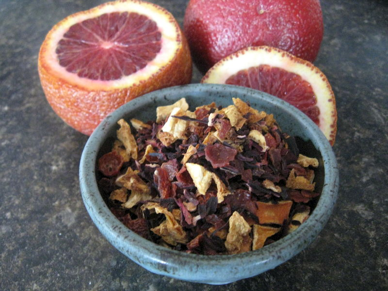 Blood Orange Loose Herbal Tea - product images  of