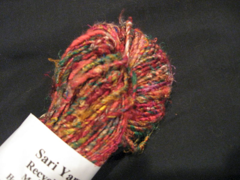 Silk Sari Yarn - product images  of