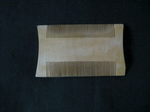 Double,Sided,Wooden,Comb,comb, wooden comb, double sided comb, hair tool, grooming, hair grooming, cosmotology, hair comb, BrishCreekWoolWorks, Brush Creek Wool Works