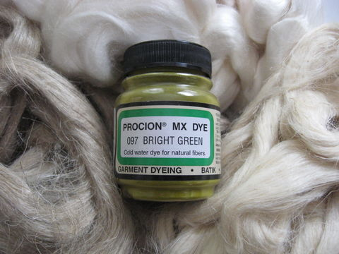 Jacquard,Procion,MX,Dye,,Bright,Green,097,,for,Plant,Cellulose,Fibers,dye, Jacquard dye, Bright Green, Bright Green dye, green dye,  tie dye, plant dye, cellulose dye , Procion MX dye, Procion dye, cotton dye, linen dye, flax dye, bamboo dye, basket dye, ramie dye,  BrushCreekWoolWorks, Brush Creek Wool Works