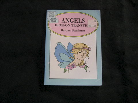 Angels,Iron,On,Transfers,by,Barbara,Steadman,book, iron on, transfers, embroidery transfers, angel tranfers, angels, enbroidery patterns, needlework, Barbara Steadman, BrushCreekWoolWorks, Brush Creek Wool Works