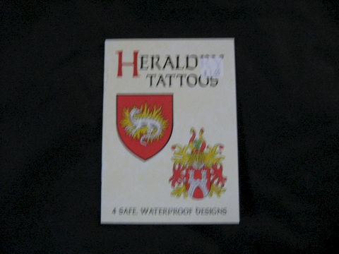 Heraldry,Tattoos,by,A.G.,Smith,tattoos, temporary tattoos, Celtic,  Heraldry, Heraldty Tattoos, Medieval, Medieval tattoos, kids tattoos, body art, book, tattoos book, tattoo transfers,  A.G. Smith, BrushCreekWoolWorks, Brush Creek Wool Works