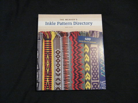 The,Weaver's,Inkle,Pattern,Directory,written,by,Anne,Dixon,book, weving book, inkle, inkle book, inkle patterns, weaving patterns, weaving, inkle weaving, warped faced, trim weaving, band weaving, Anne Dixon, inkle instruction, BrushCreekWoolWorks, Brush Creek Wool Works