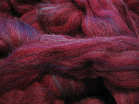 Cranberry,Multicolor,Merino,Wool,Roving,wool, roving, spinning, spinning roving, spinning wool, red, cranberry,  red roving, merino roving, multicolor roving, wool roving, BrushCreekWoolWorks, Brush Creek Wool Works