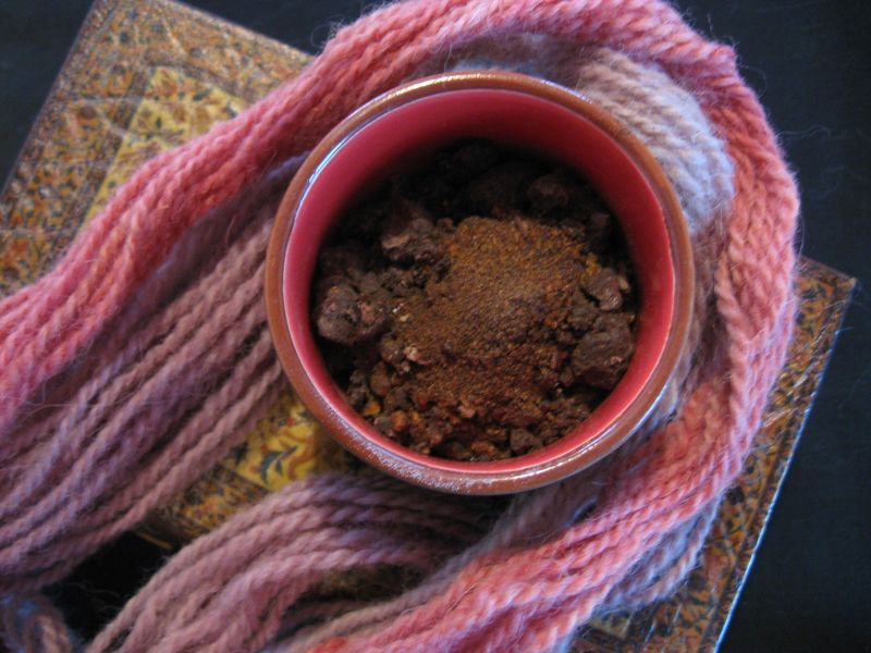 Stick Lac Natural Dye, Laccifer lacca, Finely Ground - product images  of