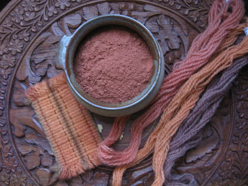 Madder Root Natural Dye, Rubia tinctorium, Ground - product images  of