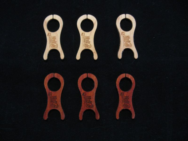 Knitting Bobbins, Handmade, Wood - product images  of