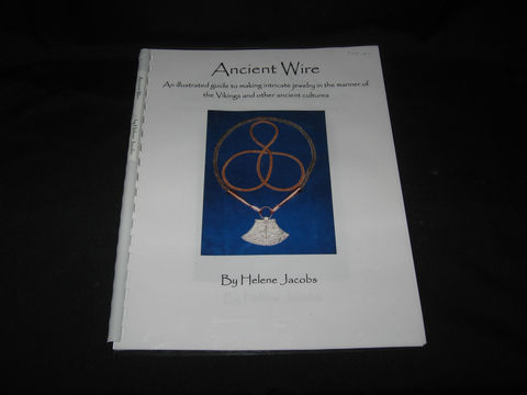 Ancient,Wire,written,by,Helene,Jacobs,wire knitting, Viking wire knitting, book, Viking knitting book, Viking jewelry , Helene Jacobs , Ancient Wire, wire jewelry, knitted jewelry , metal jewelry, knitting with wire, knitting wire, BrushCreekWoolWorks, Brush Creek Wool Works