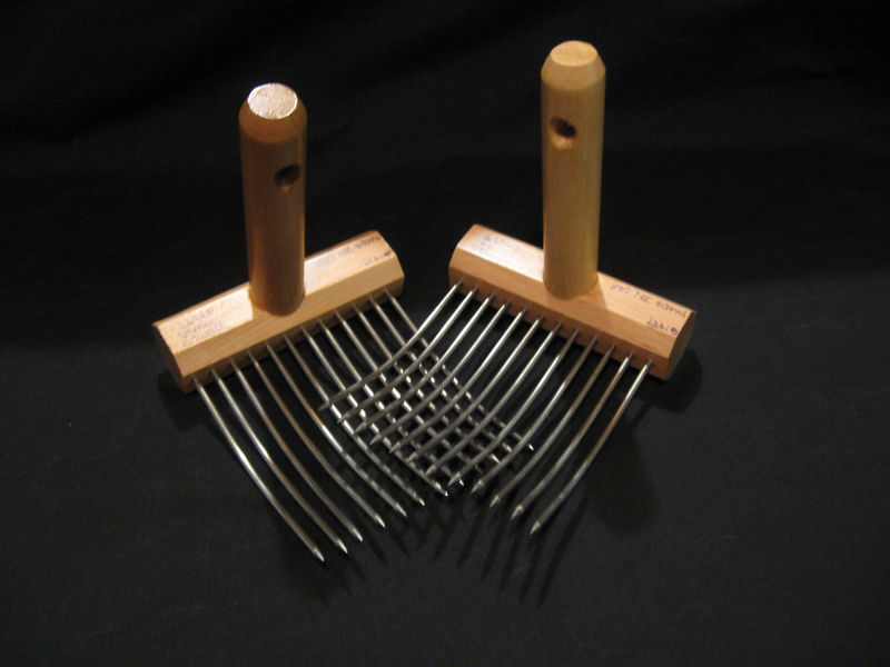 Viking Wool Combs, Single Row, by Indigo Hound - product images  of