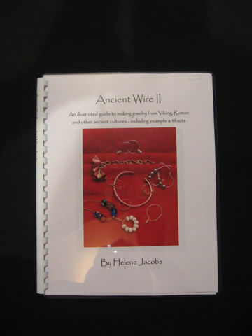 Ancient,Wire,II,written,by,Helene,Jacobs,wire, jewelry, wire jewelry, book, Ancient Wire II, Helene Jacobs, Viking wire jewelry, Viking wire knitting, wire knitting,ancient wire jewelry, knitting with wire, wire work,BrushCreekWoolWorks, Brush Creek Wool Works