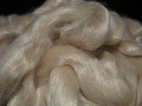 Light,Honey,Tussah,Silk,Spinning,Top,silk , silk top, tussah silk, tussah silk top, tussah spinning silk ,sericulture , spinning silk, spinning roving, tussah silk roving, honey silk ,honey silk roving, honey silk top , BrushCreekWolWorks,Brush Creek Wool Works