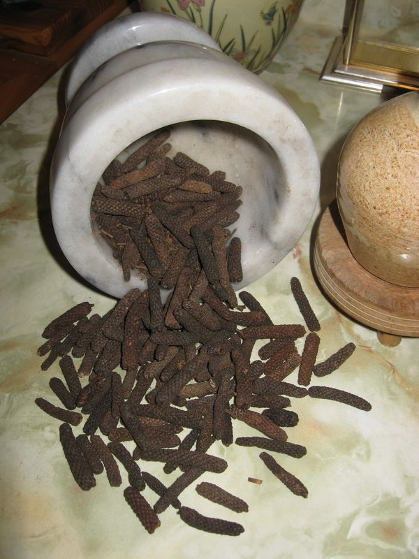 Long Pepper, Piper longum, Organic - product images  of
