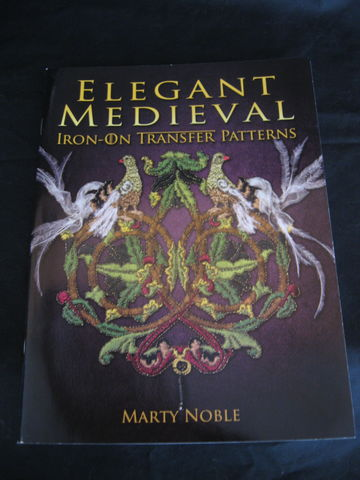Elegant,Medieval,Iron,On,Transfer,Patterns,by,Marty,Noble,Iron on, embrodiary transfers, mediveal transfers, needle craft, needle work, leathercraft, wood burning, Marty Noble , BrushCreekWoolWorks, Brush Creek Wool Works