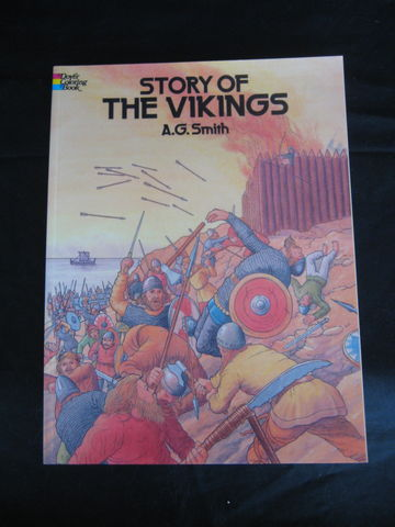 Story,of,the,Vikings,Coloring,Book,by,A.g.,Smith,coloring book, viking, viking coloring book , Norsemen, book, A.G. Smith, BrushCreekWoolWorks, Brush Creek Wool Works