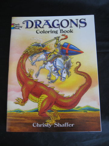 Dragons,Coloring,Book,by,Christy,Shaffer,dragons, dragon coloring book, coloring book, mythical, beasts, beast, Medieval, Christy Shaffer, BrushCrekkWoolWorks, Brush Creek Wool Works