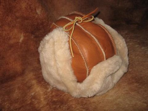 Trooper,Sheepskin,Hat,,Medium,hat, sheepskin,  nappa, shearling, clothing, leather, trooper, Brush Creek Wool Works, BrushCreekWoolWorks, Southwestern Pa