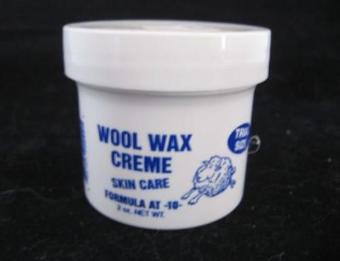 Wool,Wax,Skin,Care,Creme,,2,oz.,Trial,Size,Jar,cream, creme, wool wax, lanolin, chapped, hands, care, Brush Creek Wool Works, BrushCreekWoolWorks, Southwestern Pa
