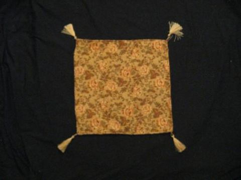 Square,Pillow,Cover,Turkish,Rose,Cream,Orange,Olive,pillow, square, cover, Turkish, Rose, Cream, orange, olive, BrushCreekWoolWorks, Brush Creek Wool Works