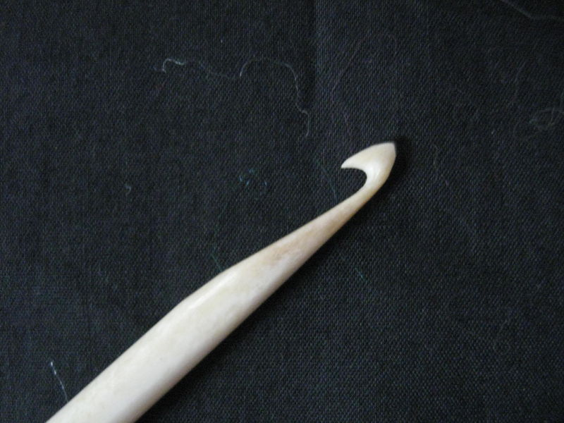 Crochet Hook, Bone - product images  of