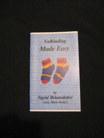 Nalbinding,Made,Easy,written,by,Anne,Marie,Decker,book, nalbinding, nalbinding book, nalbinding patterns, nalbinding instructions, Nalbinding Made Easy, nalbinding stitches, Anne Marie Decker, Sigrid Briansdotter, BrushCreekWoolWorks, Brush Creek Wool Works