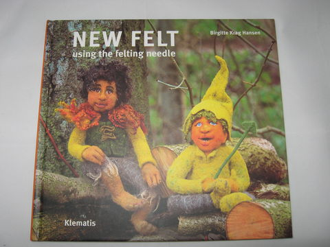 New,Felt,,Using,the,Felting,Needle,written,by,Birgitte,Krag,Hansen,book, felting, needle felting, Hansen, felted faces, new felt, soft sculpture, BrushCreekWoolWorks, Brush Creek Wool Works