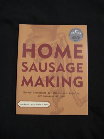 Home,Sausage,Making,written,by,Susan,Mahnke,Peery,&,Charles,G.,Reavis,book, sausage making,sausage making book, sausage,Home Sausage Making, homemade sausage,Susan Mahnke Peery, Charles G. Reavis, BrushCreekWoolWorks, Brush Creek Wool Works