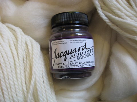 Jacquard,Acid,Dye,,Purple,613,,for,Wool,,Silk,,,Feathers,,Nylon,,and,Other,Protein,Fibers,dye, acid dye , purple, acid wool dyes, acid fiber dyes, Jacquard, Jacquard Purple,  vinegar dye, fiber dye, synthetic dye, Jacquard dye, Jacquard Purple Dye, BrushCreekWoolWorks, Brush Creek Wool Works