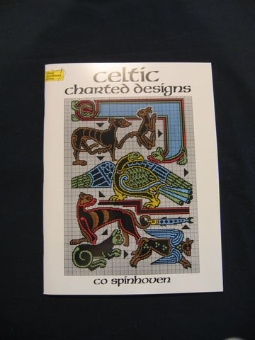 Celtic,Charted,Designs,written,by,Co,Spinhoven,book, charted design book, Celtic charted designs, Celtic designs, needlework designs, Celtic knotwork, Celtic patterns, embroidery, needlepoint, Spinhoven, BrushCreekWoolWorks, Brush Creek Wool Works