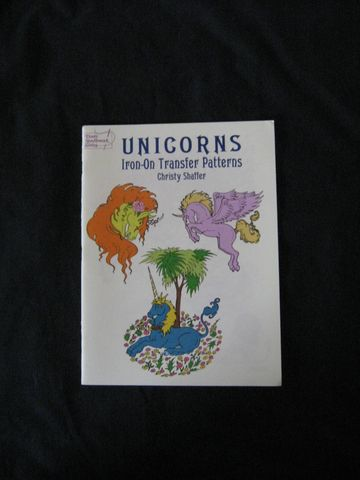 Unicorns,Iron,On,Transfers,by,Christy,Shaffer,book, iron ons, iron on transfers, Unicorn Iron on transfers, unicorns, embroidery, needlework unicorn designs, Christy Shaffer, BrushCreekWoolWorks, Brush Creek Wool Works
