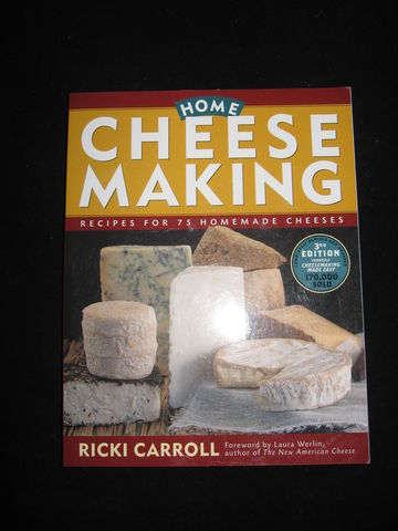 Home,Cheese,Making,written,by,Ricki,Carroll,book, cheese, cheese making , cheese making recipes , making soft cheese, Ricki Carroll, making hard cheese,  home made cheese, BrushCreekWoolWorks, Brush Creek Wool Works