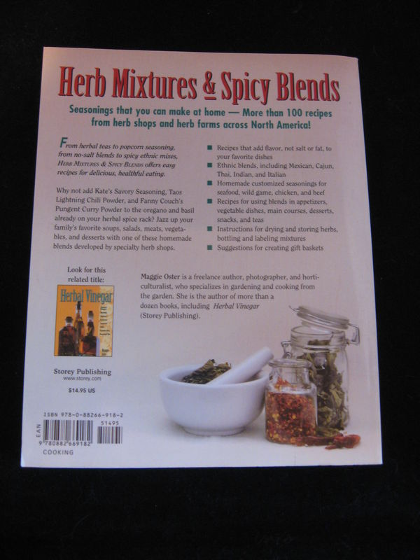 Herb Mixtures and Spicy Blends, Introduction by Maggie Oster - product ...