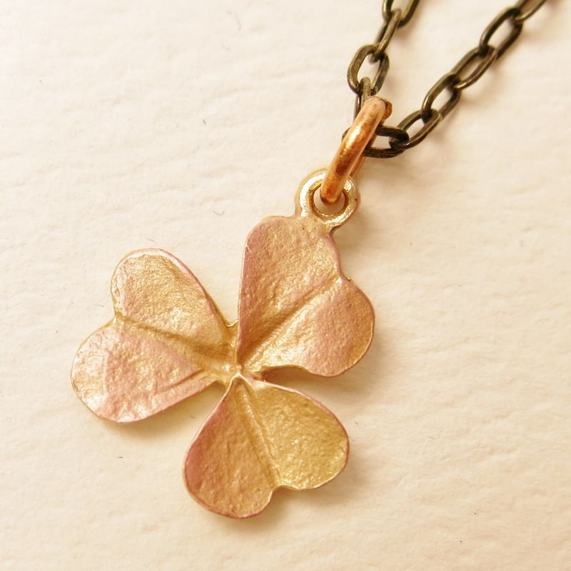 Clover pendant necklace talich clover pendant necklace product image aloadofball Image collections