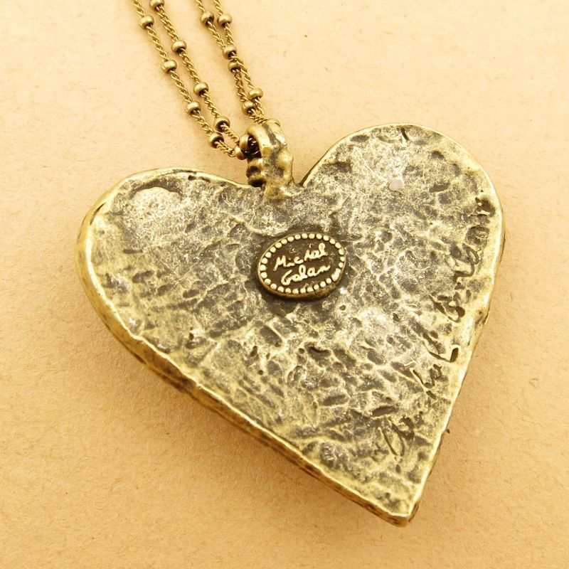 Michal Golan Confetti Large Heart Pendant Necklace Product Image