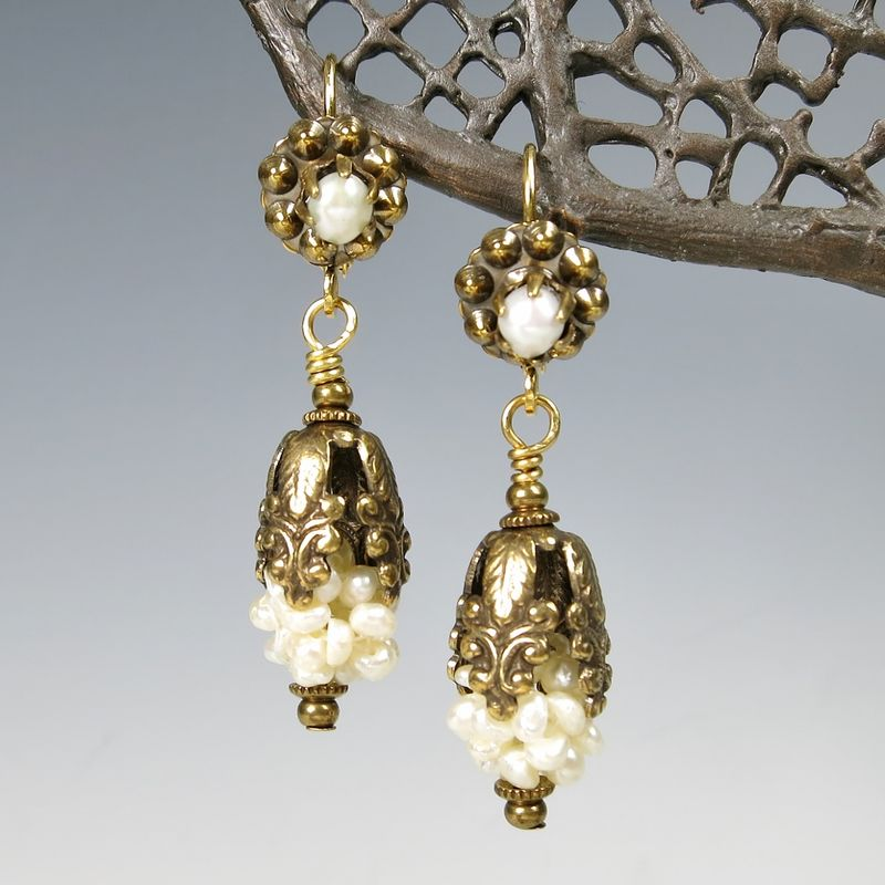 Jan Michaels Earrings Collection TALICH - Chandelier crystals michaels