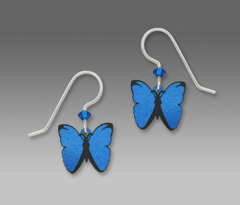Sienna,Sky,Earrings,-,Blue,Morpho,Butterfly,Sienna Sky Earrings, Sienna Sky Earrings Blue Morpho Butterfly, Sienna Sky 1376