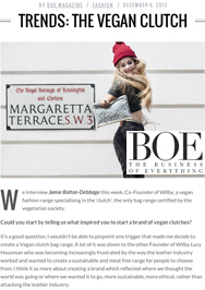BOE Magazine feature