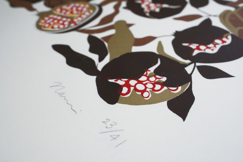 Screen Print Pomegranate - product images  of